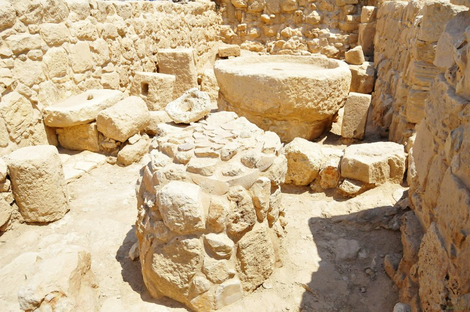 Византийская маслодавильня в Шило