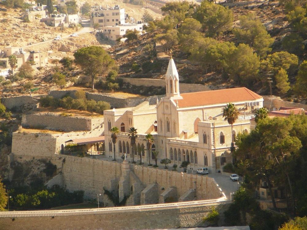 В монастыре действовал сиротский приют