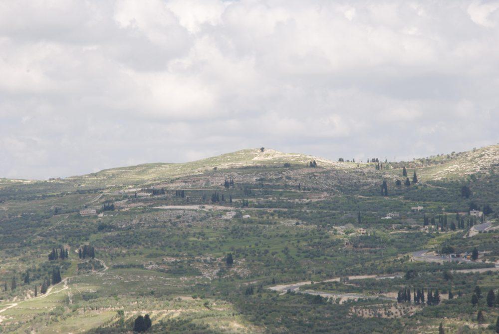 Хребет Хомеша - Северная часть горы Эйваль
