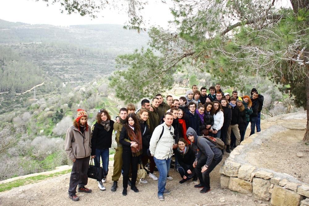 В Иерусалимских горах - маршрут Сатаф