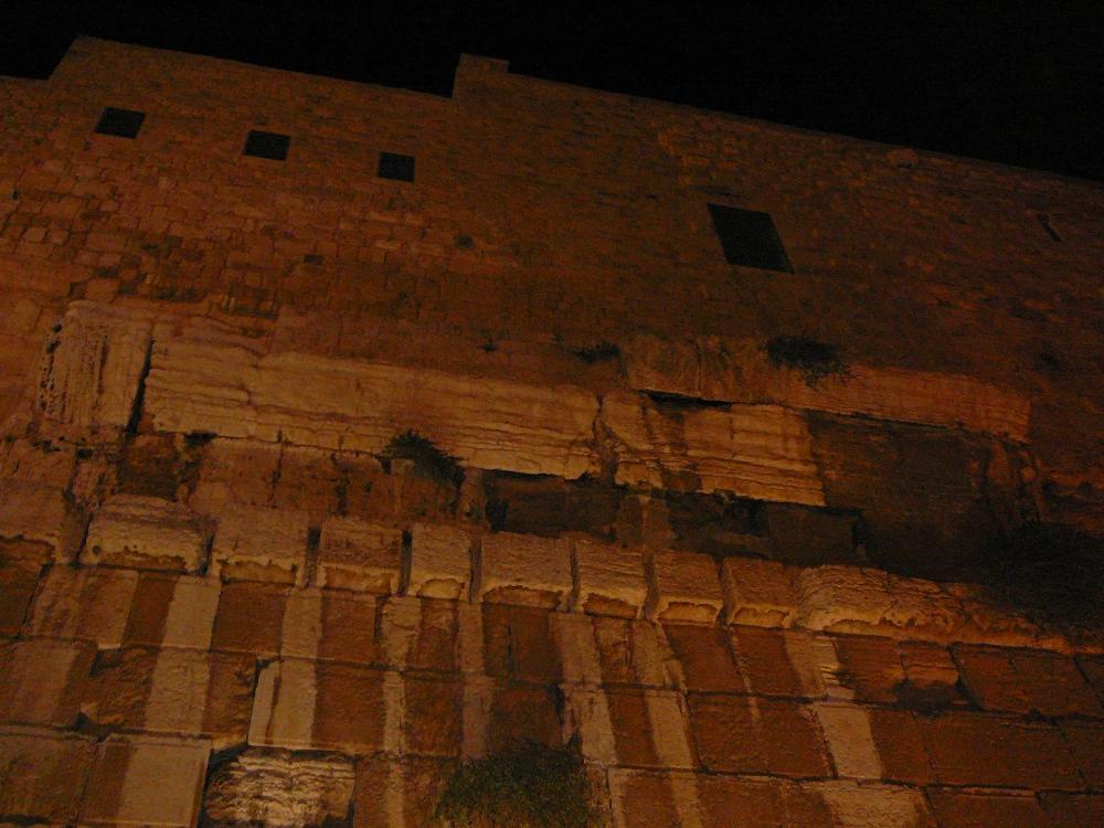Здесь был один из подъемов в сторону Храма