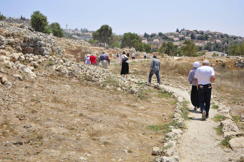 Экскурсия в Шило превращается в путешествие в истоки еврейского народа и в его первые шаги на Святой Земле