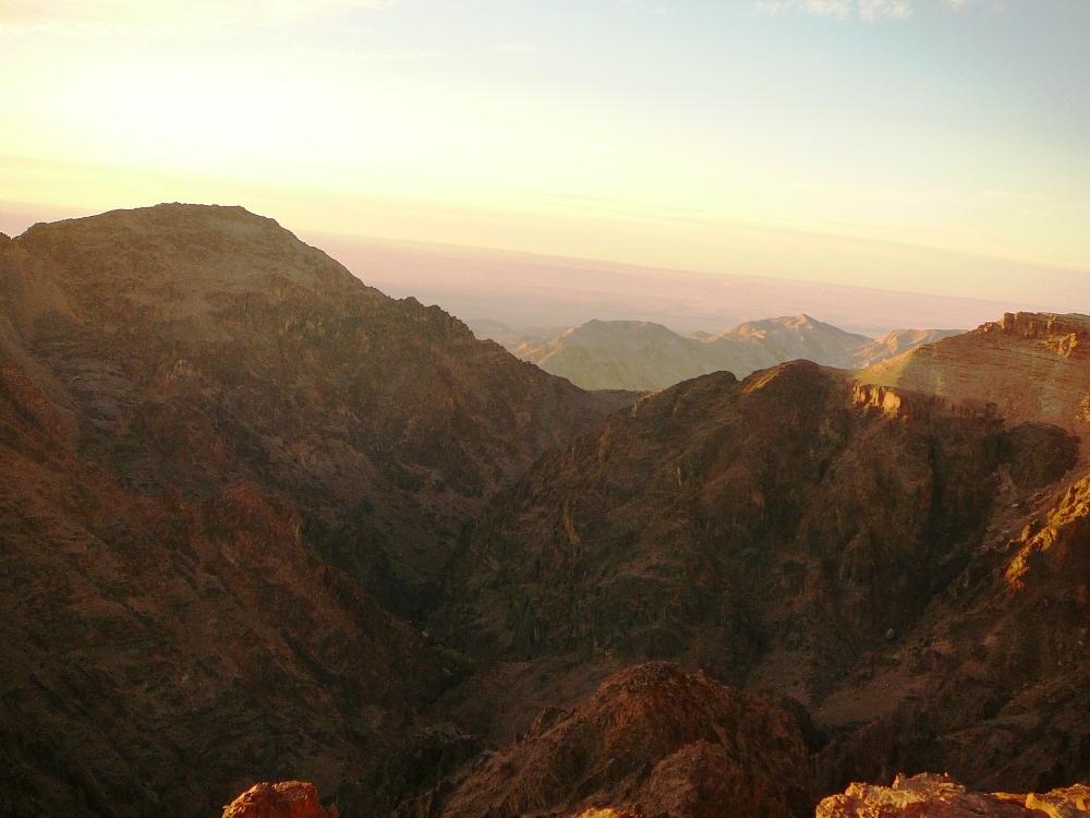 Горы Эдома, Иордания