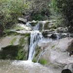 Водопад в ущелье Нахаль а-Шофет