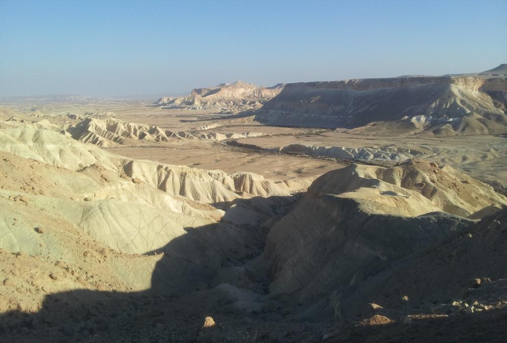 Ущелье Цин в Негеве