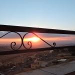 Восход солнца с моего балкона