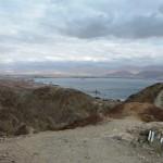Вид на залив Эйлата с горы Цфахот