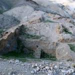 Акведук и бассейны Хасмонеев в Горкании, в Иудейской пустыне