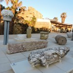Выставка строительных материалов древней Кейсарии