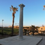 Гранитная колонна в Кейсарии