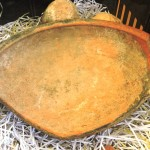 Разбитая тарелка, 3000-летней давности из пещеры Праотцев