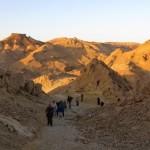 Экскурсия в кратере Рамон - маршрут Саароним