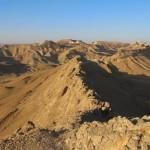 Хребет Саароним в кратере Рамон