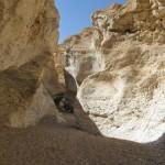 Ущелье Некарот в кратере Рамон