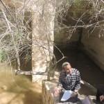 В цистерне Хаварим, экскурсия в пустыне Негев