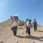 Спуск с горы Верблюда (Гамаль), экскурсия в кратере Рамон