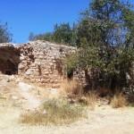 Древние руины возле Эйн Мата, в горах Иерусалима