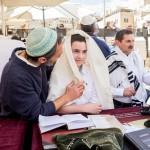 Бар Мицва у Стены Плача в Иерусалиме