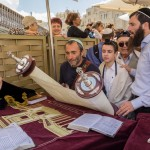 Чтение Торы - Бар Мицва у Стены Плача в Иерусалиме