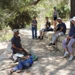 Во время экскурсии в Иерусалимских горах - Сатаф и Цуба