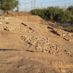 Раскопки стен и ворот древнего Гата