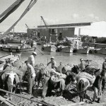 Тель-Авив, порт, 1936 г.