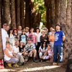 Экскурсия в Эйн Мата - в плантации пальм Вашингтония