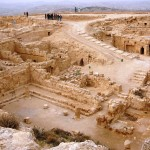 Дворец Ирода в Иродионе, вид со стен крепости