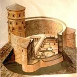 План Иродиона - дворец-крепость царя Ирода