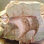 Фрески из царской ложи театра в Иродионе, музей Израиля