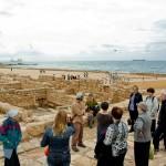 Экскурсия по древней Кейсарии - гид Арье Парнис