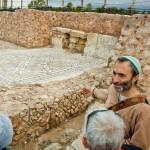 Мозаики древней Кейсарии - экскурсовод Арье Парнис