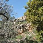 Руины сторожевой башни в Бейт Эле