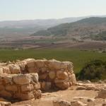 Ворота Шеараим (хурват Кеяфа) - вид в сторону долины Эла и гор Хеврона