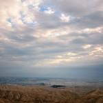 Вид на долину Иордан с Мицпе Йерихо