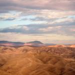 Вид на Иудейскую пустыню с Мицпе Йерихо