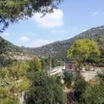 Станция Бар Гиора в ущелье Сорек, горы Иерусалима