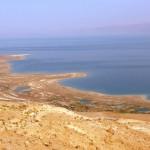 Мертвое море, вид с Мицпе Драгот