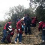 На экскурсии в ущелье Кталав в Иерусалимских горах
