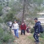 Подъем с ущелья Сорек, экскурсии в ущелье Кталав в Иерусалимских горах