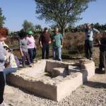 Древняя миква возле синагоги Маон в Западном Негеве