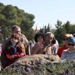 На экскурсии в Западном Негеве, мемориал Хец Шахор