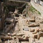 Раскопки на парковке Гивати при входе в Город Давид, Иерусалим