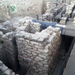 Ворота времен царя Шломо (Соломона) - Иерусалим, раскопки Офеля