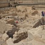 Раскопки в парковке Гивати в Иерусалиме