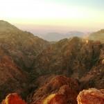 Гранитные горы Эдома, Иордания