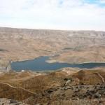 Ущелье Арнон, новое озеро и платина, Иордания