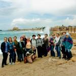 Экскурсия в Кейсарии с группой пенсионеров