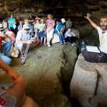 В пещере возле Бейт-Эля, экскурсии в Иудее и Самарии