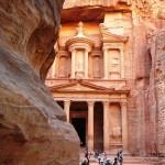 Хазане, самый известный обелиск в Петре, Иордания